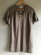 Paul & Joe. Taupe Shift Dress. Size 36. Rrp £300