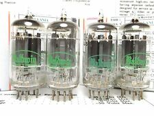 4-12AX7 Sylvania/Baldwin Certified *Reference Plus Grade* Superb Vintage Tubes