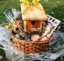 The Deluxe Bluebird Gift Basket, by Birdhouses America Company