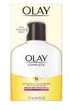 Olay Complete Daily Moisturizer Spf15 Exp 02/2021 Lot Of 5 NEW IN BOX