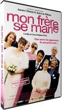 """DVD """"MON FRERE SE MARIE"""" JEAN-LUC BIDEAU - AURORE CLEMENT -neuf sous blister"""