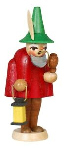 Vitrinenfigur Gnome Red 145/2B Seed Box Erzgebirge Seiffen Christmas New