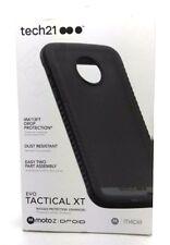 TECH 21 EVO XT Tactical Duro Armor Case Cover Nero per Motorola MOTO Z DROID
