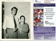 Rock Hudson Autograph Actor In McMillan & Wife Signed Photo Jsa Authenticated