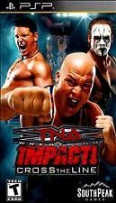 TNA Impact Cross the Line (Sony PlayStation Portable) PSP new sealed video game