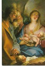 "VINTAGE RELIGOUS GERMAN POSTCARD: ""HOLY NIGHT"" Jaques Stella (1596-1657)"