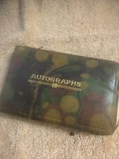 More details for vintage autograph book george formby 1933 and many more poems and pictures 1920s