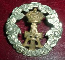 CAP BADGES-ORIGINAL BOER WAR VICTORIAN YORKSHIRE REGIMENT THE GREEN HOWARDS