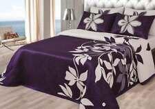 Colcha reversible MARIANA para camas de 90 135 150 180 cm Cojines opcionales.