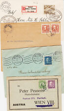 Suede, lot de 88 documents  variés de 1895/1960, affranch pour l'étranger TE