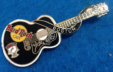 BOSTON ELVIS PRESLEY DEAD ROCKER ACOUSTIC GUITAR SERIES Hard Rock Cafe PIN