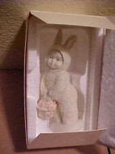 Dept 56 Snowbunnies A Basket of Cheer New in Box Snowbabies