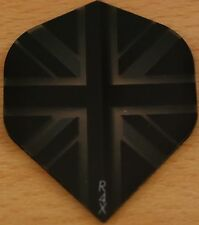 "3 Sets (3X3)""Union Black+Clear"" R4X Extra Strong Ruthless Dart Flights"