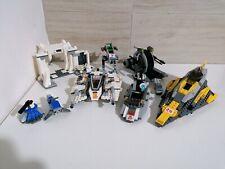 Lotto Lego set star wars 8089 8014 7669 kg navicelle Jedi starfighter lot