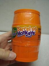 HASBRO BARREL OF MONKEYS GAME 10 ORANGE MONKEYS 2012 NIP USA