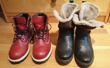 Timberland Red Women's Boots and American Eagle Outfitters Boots