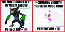 ZARUDE + CELEBI THE MOVIE COCO EVENT Pokemon Sword And Shield✨ Perfect 6IV🚀