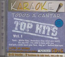 Britney Spears Dido Nelly Furtado No Doubt Top Hits Vol 1  Karaoke New SEALED