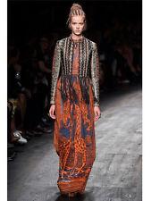 BNWT Runway VALENTINO Giraffe Print Dress Sz IT42 (Retail $5,350)