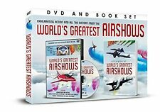 WORLDS GREATEST AIR SHOW DVD AND BOOK / RED ARROWS PINS - GIFT SET
