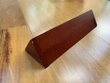 Wood Prism Triangular Fountain Pen Case/Holder/Display