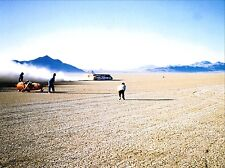 THRUST 2 LAND SPEED RECORD CAR RICHARD NOBLE ON THE SALT LAKE  PHOTOGRAPH LSR 2