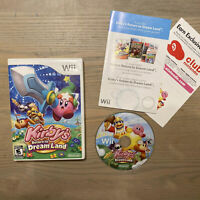 Kirby's Return to Dream Land (Nintendo Wii, 2011) TESTED and WORKING!!