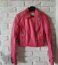 8eee3457c9 Cappotti e giacche da donna rosa in pelle con cerniera | Acquisti ...