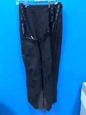 NEW Isis Winter Waterproof Snow Pants with Suspenders Black Size 8
