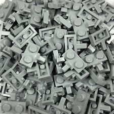 Lego 20 x Light Grey 1x2 Hinge Special Plate 44567 With 1 Locking Finger On Side