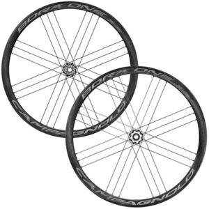 New Campagnolo Bora One 35 DB Carbon Road / Tubular Wheelset / Dark Labels