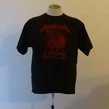 Metallica Calgary 2008 Show Your Scars Shirt XL - Concert T