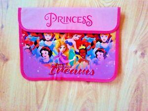 Disney Characters Girls Children Kids Primary School Book Bag Princess Pink