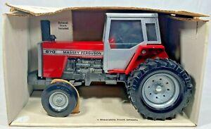 ERTL Toys Massey Ferguson 670 1/20 Scale Toy Tractor New In Original Box