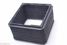 ✅Sinar Bellows, Hood, Shade Standard 4X5 Square Original Swiss Made F, F2, P, P2