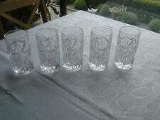 Bleikristall Wassergläser schwere Gläser Softdrink Kristallgläser