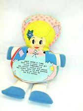 Vintage 1977 Cinderella & Goldilocks Double Storybook Doll, Dandee, 11 Inches