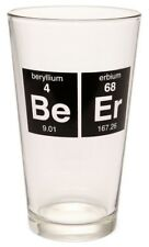 PERIODIC TABLE BEER PINT GLASS CHEMIST BREAKING BAD BIG BANG THEORY SCIENCE NERD