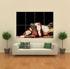 Tatouage sexy Femme nue Lady New Giant Poster Wall Art Imprimé Photo G1202