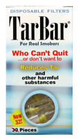 TarBar Cigarette Filters Disposable Tar Nicotine Two Boxes 64 Filters Total Bar