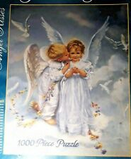 New In Box White Mountain Puzzles Angel Kisses By Sandra Kuck 1000pc Puzzle