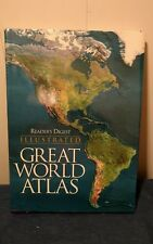 1997 READER'S DIGEST ILLUSTRATED LARGE GREAT WORLD ATLAS w/DJ Free Shipping
