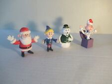 Rudolph Island of Misfit Toys lot of 4 2.5 inch PVC NICE