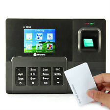 Realand A-C030T Fingerprint Time Attendance Clock ID Card+TCP/IP+USB 200MHz CPU