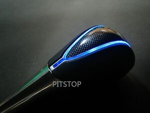 Toyota Aurion Camry 2007-UP LED gear shift knob chrome Automatic carbon look