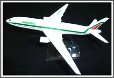 Boeing 777 Alitalia Airline Italy Aeroplane Metal Plane Model Diecast Gift Toy