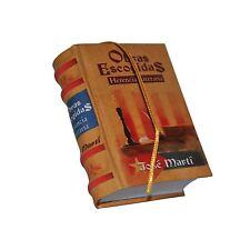 new hardcover Obras Escogidas Herencia Literaria Jose Martí mini Book in spanish