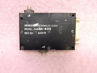 General Microwave 3453H-605 SMA RF Programmable Attenuator 0-60dB 2.6-5.2GHz