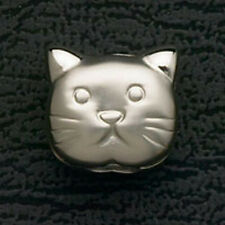 Cat Beads Fit European Bead Charm Bracelets Stainless Steel Free Shipping Gifts
