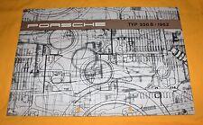 PORSCHE 356 B 1962 originale prospetto brochure CATALOGUE DEPLIANT 356b prospetto